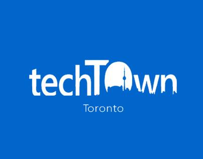 TechTOwn Toronto - Concept Website