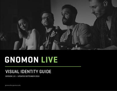 Gnomon Live 2017 Visual Identity Guide