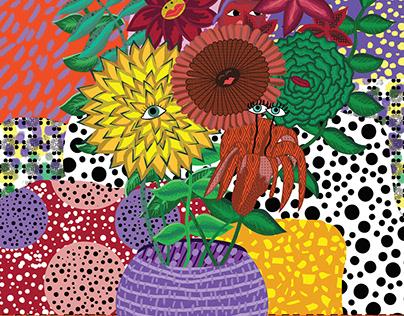 Flower Pot Illustrations
