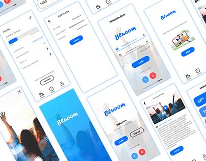 Video App - Mobile App Design