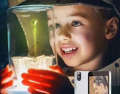 Kodak Phones Print Ads