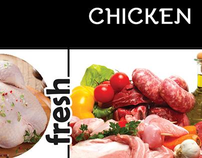 Fresh meat & chicken | «RedTick» Supermarket
