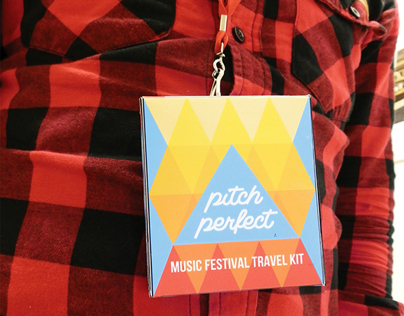 Pitch Perfect Music Festival Travel Kit
