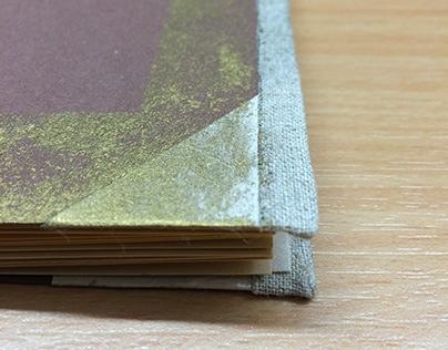 Japanese stab bound notebook