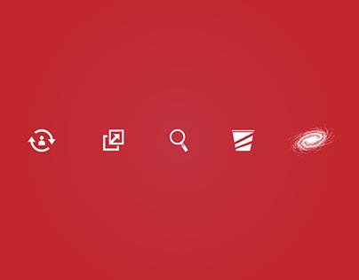 Freebie - multipurpose vector icons