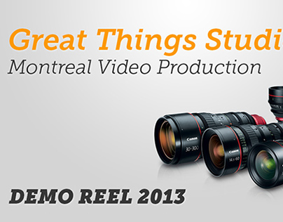 Great Things Studios - Demo Reel 2013