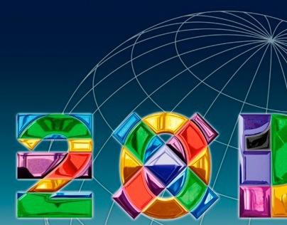 Expo 2015 logo graphic elaboration