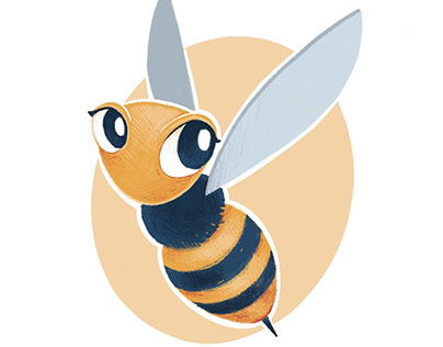 SupportBee / bee character design