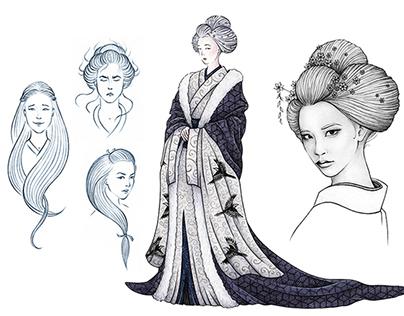 Yuki Onna - Visual Development