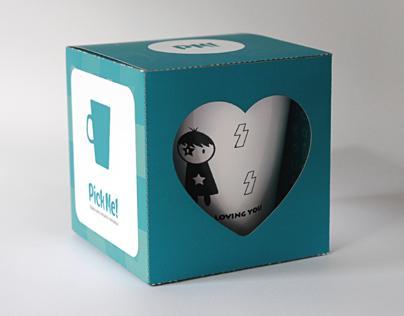 Pick Me! | Packaging para tazas