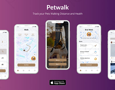 Petwalk Mobile App