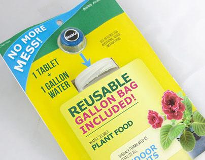 Packaging Design, fertilizer tablets