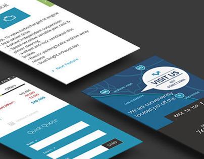 Responsive Website Design Template