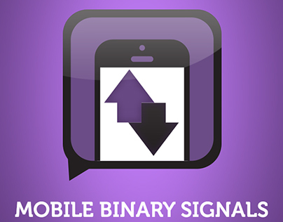 Binary signals ios app