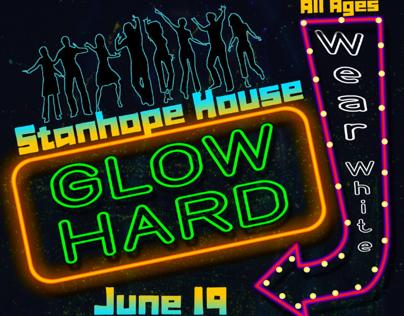 Glow Hard Flyer
