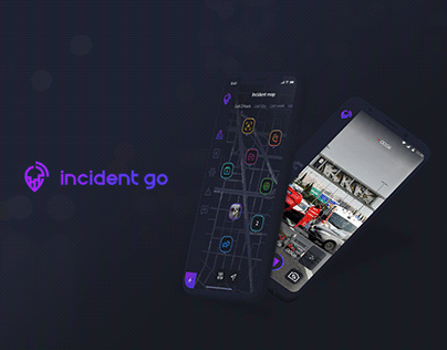 IncidentGo – UX/UI Mobile app design for iOS & Android