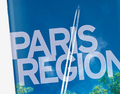 Aeronautics Paris Region print design