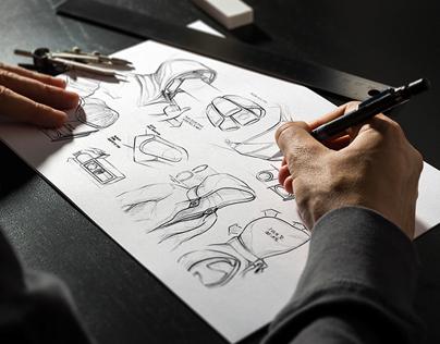 Sketchbook Mock-Up / Black Edition