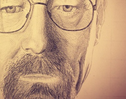 Portrait from cinema (WIP)