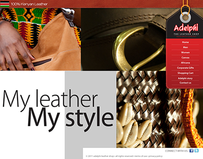 Adelphi Leather Kenya Website 2012