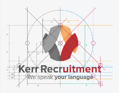 Kerr Recruitment Brand Redesign