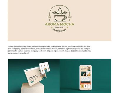 Brand Identity for Aroma Mocha