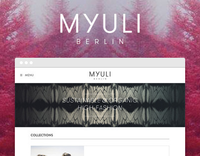 Myuli - Website