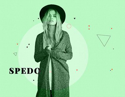 Spedo Free Psd For Fashion & Clothes Sites