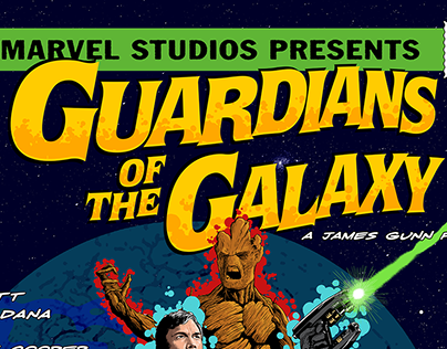 Guardians of the Galaxy - Poster Posse