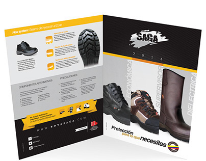 Saga Brochure Design