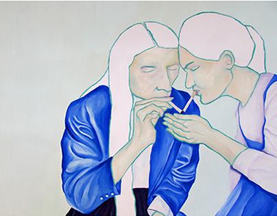 spring 2014 paintings