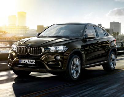 BMW X6 - MORE JET. LESS SET.