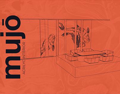 Mujō - Propuesta interior en acrílico