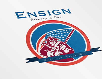 Ensign Brewery and Bar Logo