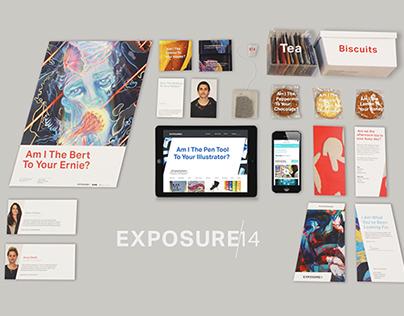 Exposure 2014 / Identity & Campaign