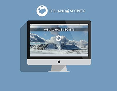 ICELAND SECRETS · Web · Brand · Design ·
