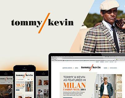 Tommy & Kevin Website Design