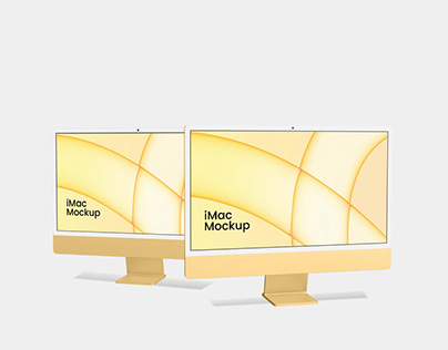[NEW] iMac 24 inch Mockup Free Psd Download