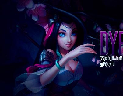 Banner da Twitch DYF