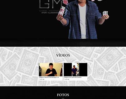 Website Responsivo: Gabriel Montenegro