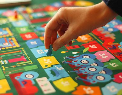 TABLE GAME LE BATEAU FEU