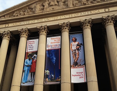 Searching for the Seventies Exhibit, National Archives