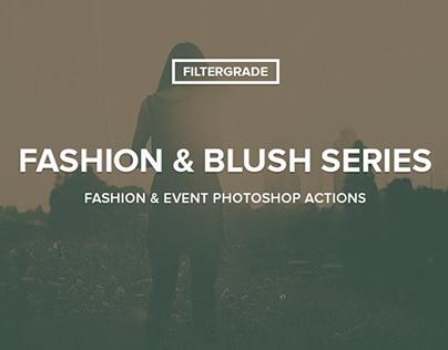 Fashion & Blush Series Photoshop Actions