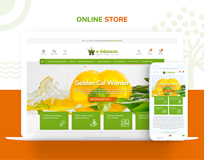E-fidancım E-commerce Design