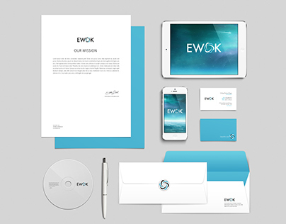Identidad corporativa de Ewok ingeniería