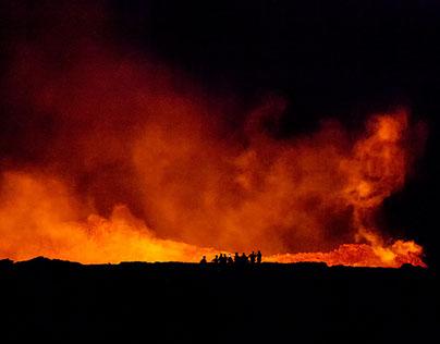 ETHIOPIA: Erte Ale volcano