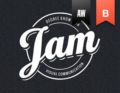 JAM 2014 - Design Exhibition Branding