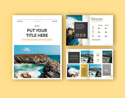 Adobe: Brochure/Magazine Layout (Download)