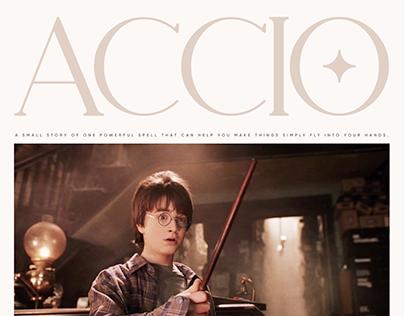 Accio | Website