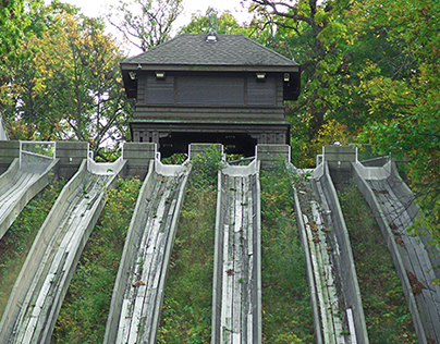 Swallow Cliff Toboggan Slides 81